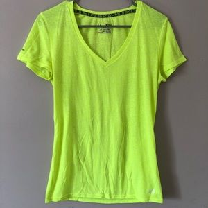 Neon Yellow Under Armour T-Shirt